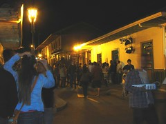 Salento Village at night (yiyeneuron) Tags: colombia colonial salento streetscenes flickrfriday