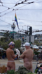 Oh, Castro (HeyMoira) Tags: sf sanfrancisco naked parrot castro nudity