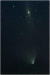 PanStarrs near Andromeda Nebula (MWolff) Tags: canon eos nebel astro andromeda nebula m31 comet 6d komet panstarrs canon6d astrometrydotnet:status=solved panstar astrometrydotnet:version=14400 polarie panstars panstarr astrometrydotnet:id=alpha20130402908635
