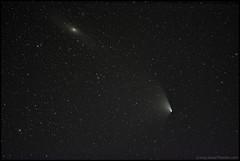 Pan-STARRS and Andromeda (Jonas Thomén) Tags: space astro andromeda galaxy comet galax komet panstarrs rymd Astrometrydotnet:status=solved Astrometrydotnet:version=14400 Astrometrydotnet:id=alpha20130404838443