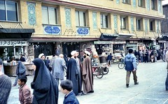 so many Mollahs on the street (Casey Hugelfink) Tags: iran qom ghom hazratmassoumehshrine