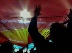 La bandera mas grande del mundo (laurw) Tags: uruguay record montevideo guiness nacional bolso cndef
