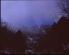 (bensn) Tags: cloud snow mountains mamiya film japan velvia medium format 50 nagano f4 80mm togakushi 7ii