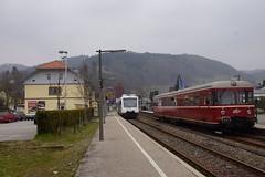 SWEG 504 en AVG VT452 in station Oppenau 06-04-2015 (marcelwijers) Tags: en station 504 avg oppenau sweg vt452 06042015