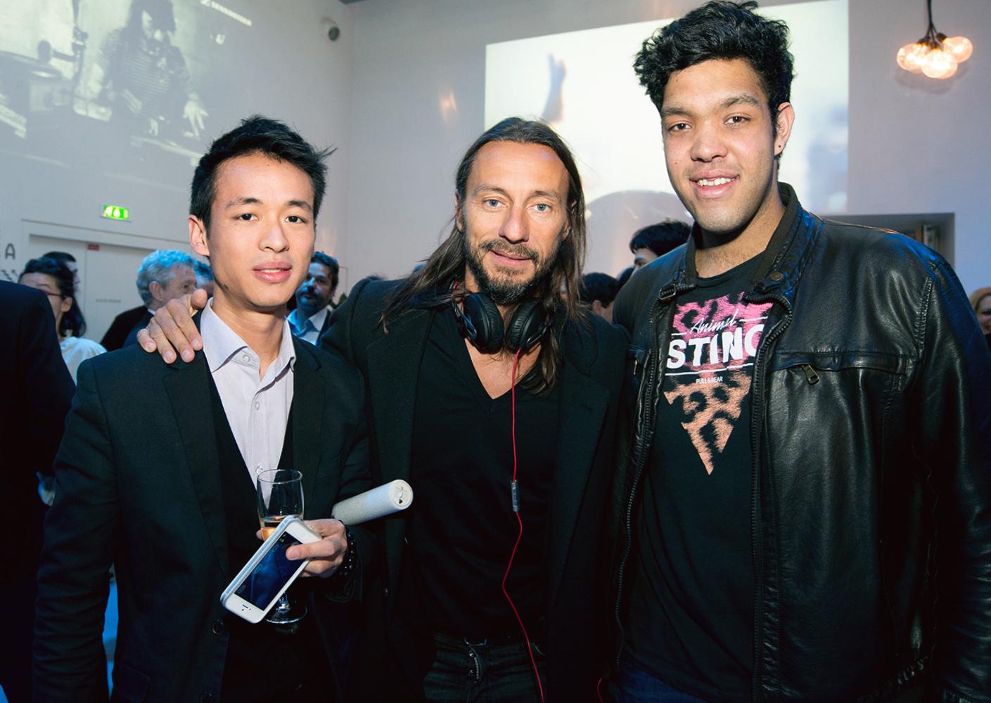 Bob Sinclar avec Woody et Kumar