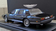 Aston Martin Lagonda 1985 - Black Edition (TRL Models) (-Yannewvision-) Tags: france car french miniature frankreich automobile retro collection oldcars spielzeug jouet astonmartin フランス maquette lagonda miniatur automobil 集合 rétro alten 自動車 englishcars ミニチュア viellesvoitures アストンマーチン 古い車 voituresanglaises yannewvision レトロな車 ラゴンダ