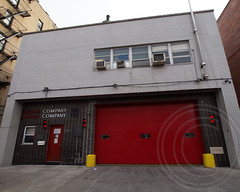 FDNY Firehouse Engine 330 & Ladder 172, Bensonhurst, Brooklyn, New York City (jag9889) Tags: ocean county city nyc house ny newyork building tower station architecture brooklyn truck fire engine 330 company kings parkway borough ladder firehouse fdny department firefighters 172 unit bensonhurst thawing bravest engine330 ladder172