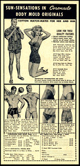 Coronado Surf Shop (Harald Haefker) Tags: promotion shop vintage magazine ads print advertising pub surf publicidad reclame ad retro anuncio advertisement nostalgia homoerotic 1950s advert 1956 coronado werbung publicit magazin reklame swimsuits affiche publicitario pubblicit rclame badehose bademode homoerotisch pubblicizzazione