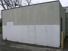 buffed wall other angle (httpill) Tags: streetart chicago art wall graffiti tag graf buff walls removal buffed graffitiremoval buffedwalls