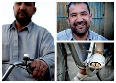 property mate (evanistan) Tags: afghanistan man bike bicycle cycling russia leg afghan landmine prosthetic hazara mujahideen chowkidar