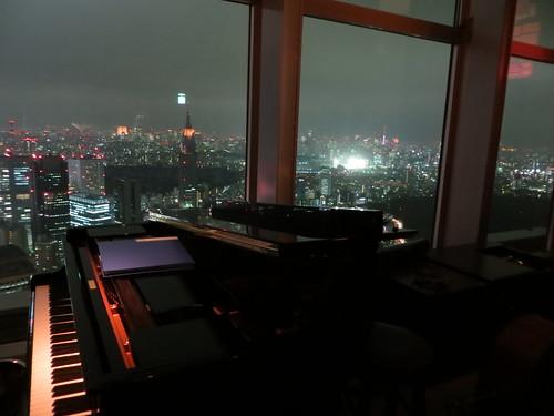 Piano ar the New York Bar, Park Hyatt Tokyo
