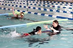 Swim lessons at Danny Jones (North Charleston) Tags: water pool kids swimming swim children floaties lessons aquatics dannyjones