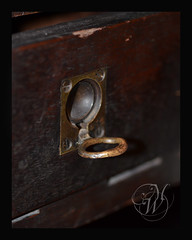 GrandDad's Desk (Mike Woodfin) Tags: old macro history closeup canon dark photography photo nikon fuji tn knoxville desk antique tennessee picture used photograph historical aged brass workbench latch watchmaker pedigo mikewoodfin