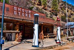 Shoup Idaho (Pattys-photos) Tags: store idaho gaspump shoup