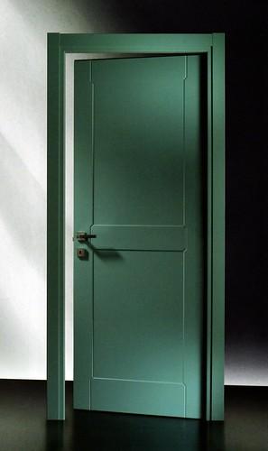 Porta Pantografata 43C RAL 6034