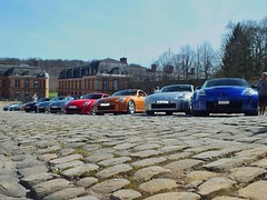 Our Z meeting last week end with 40 cars ! (latin_drumer) Tags: cars nissan meeting 350z