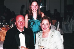 Rick, Alexa and Roberta (Area Bridges) Tags: california wedding liz la losangeles 2000 rick romano alexa roberta