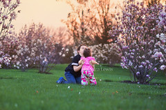 Kiddos FB (SLewis Photography) Tags: spring blossoms magnolias 17months kiddos april2013 saralewisphotography wwwsaralewisphotographycom deannarosechildresfarmstead