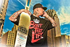 Mr Belvedere (Jaughn Bearen) Tags: portrait bottle nikon vodka belvedere hiphop bangers alienbees d90 tfk 9muse jaughnbearen boutthatlife