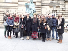 Finance Visit - February 2013 (School of Law) Tags: scotland edinburgh stgilescathedral law glasgowuniversity scottishparliament holyroodpalace schooloflaw courtofsession bankofscotlandmuseumonthemound professorgeorgewalker