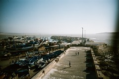 Essaouira, Morocco (ChihPing) Tags: travel blue iso100 lomo lca morocco vista medina agfa oldtown essaouira