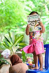 Jungle! (Arnaumb) Tags: travel people english students children indonesia java education nikon muslim islam religion teacher jakarta math volunteer jawa ngo nonprofit d600 70210mm earthasia