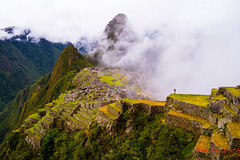 Machu Picchu - 11 Mar 2013-18/36 (Ted's photos - For me & you) Tags: travel vacation mountains travelling green peru fog travels hill terraces foggy unescoworldheritagesite unesco valley hillside machupicchu lowclouds settlement mytravels oneman terraced lowcloud outoftown singleman mountainvalley myvacation mountainscene hilside sacredvalleyoftheinca tedsphotos