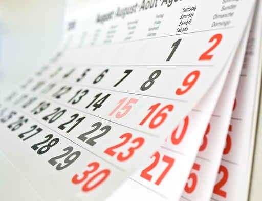 Close Up A Calendar Page Carte De Visite Professionnelle Tags Closeup Paper Office