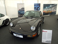 Porsche 911 (964) (Xavier Sanz) Tags: barcelona ford de spain cobra lotus 911 delta f1 ferrari porsche shelby gt rs montjuic montjuich lancia carrera montmelo testarossa gt40 gt3 964 keke espiritu rosberg esperit