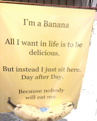 Up next, on Bananas with Low Self-Esteem...
