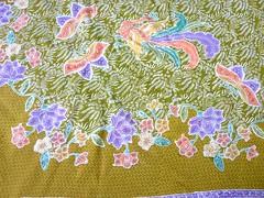 Cotton paris sarong (Della Ong) Tags: beach indonesia singapore little handmade culture material sarong batik nonya littlenyonya