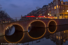 Amsterdam Canals in Night (Sudhanshu Pran Kaul) Tags: africa city longexposure travel flowers autumn trees light sunset sea india paris bird beach fountain beer windmill beauty amsterdam animal bicycle architecture night cat butterfly germany pier boat canal leaf feline europe eagle lotus snake trails australia eiffel canals traveller cycle nigeria aussie mauritius gracht globetrotter wils tiget sanrays