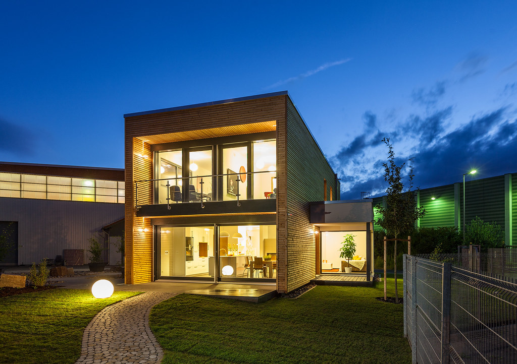 The world 39 s best photos of einfamilienhaus and fertighaus - Fertighaus architektenhaus ...