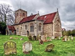 All Saints, Hartest (1) (dogmarten28) Tags: church suffolk afternoon village stormy perpendicular pulpit allsaints eastanglia jacobean hartest terrywaite babergh blinkagain dogmarten28