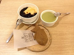 Desserts (bambooland) Tags: food asian dessert restaurant asia sweet eating jelly japanesefood beancurd taiyaki iphone japanesecuisine thebeanstore