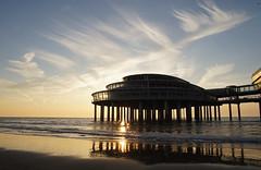 Pier Scheveningen sunset (Bastiaan Jol) Tags: sunset sea beach evening pier scheveningen sony alpha tamron 1750mm28 slt55