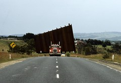Wide Load Latrobe Valley 18-12-1985 (Dermis50) Tags: trucks gippsland wideload latrobevalley
