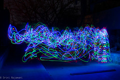Steel Wool-20130420-23 (Srini Rajamani) Tags: chicago lightpainting night harlem worth lightpaintinglongexposure chicagourbex steelwoolpainting steelwoolphotogoraphy harryyourellaerationstation