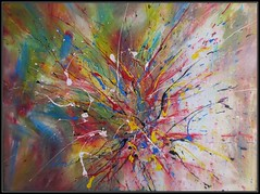 2013 - COLORS OF LIFE (imabstrato) Tags: abstract art painting paint acrylic drip abstracto