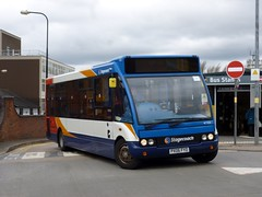 Stagecoach North West 47333 PX06FYD Wigan bus station (brucekitchener) Tags: optaresolo stagecoachnorthwest