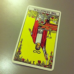 Today's one card #tarot reading, the Magician ...
