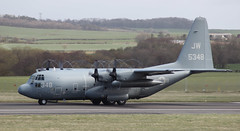 US Navy C130T (FuriousGM) Tags: us airport aviation navy usnavy hercules prestwick pik c130t egpk lockheedc130 165348