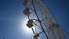 IMG_5889 (cess044) Tags: park city blue light sunset sun white wheel canon point shoot afternoon metro weekend philippines sunday ferris powershot manila pointandshoot amateur pasay beginner metromanila a1200 2013