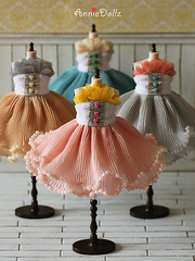Romantic Vintage Pearl Dress <333
