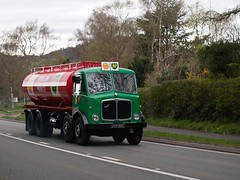 UYP 897  1959   AEC Mammoth Major Mk III Tanker  Shell/BP  A49 Beeston (wheelsnwings2007/Mike) Tags: major iii mammoth beeston mk tanker 1959 aec a49 897 uyp shellbp