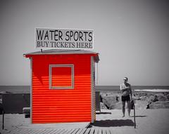 Beach hut (Sidmackem) Tags: beach canon coastal tenerife beachhut canaryislands loscristianos colourpunch sidmackem