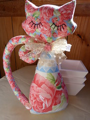 Gata (Canteiro de Ideias) Tags: fish cat handmade artesanato craft peixe gata giraffe solange girafa