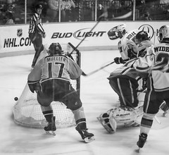 Attempt (Tom Frundle Photography) Tags: sports hockey nhl tn nashville pentax professional k5 nashvillepredators downtownnashville 2013 nhlhockey bridgestonearena tomfrundlephotography
