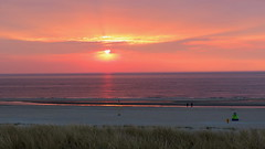 MONSTER, THE NETHERLANDS (pwitterholt) Tags: sunset sun beach monster strand canon coast zonsondergang noordzee zee duinen zon kust zuidholland zandstrand canonpowershotsx40hs canonsx40