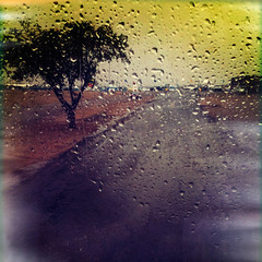 Rain dance (Jasmina Kimova Photography) Tags: travel newmexico rain fineart adventure raindrops windshield conceptual ontheroad jasminakimovaphotography